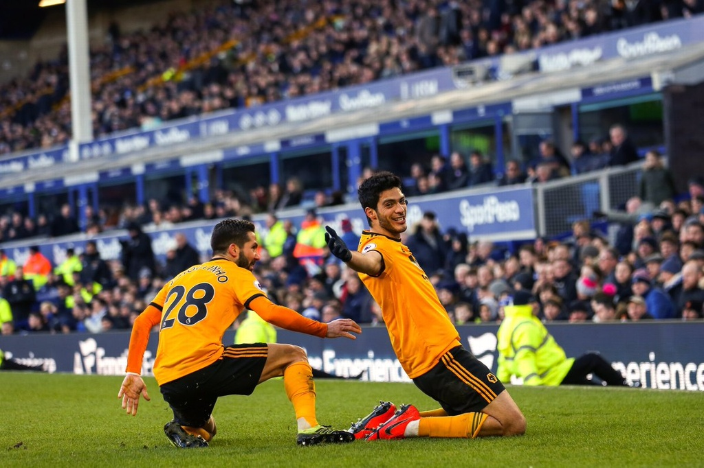 ¡Raúl Jimenez vuelve anotar (VIDEO)! Wolverhampton gana a Everton