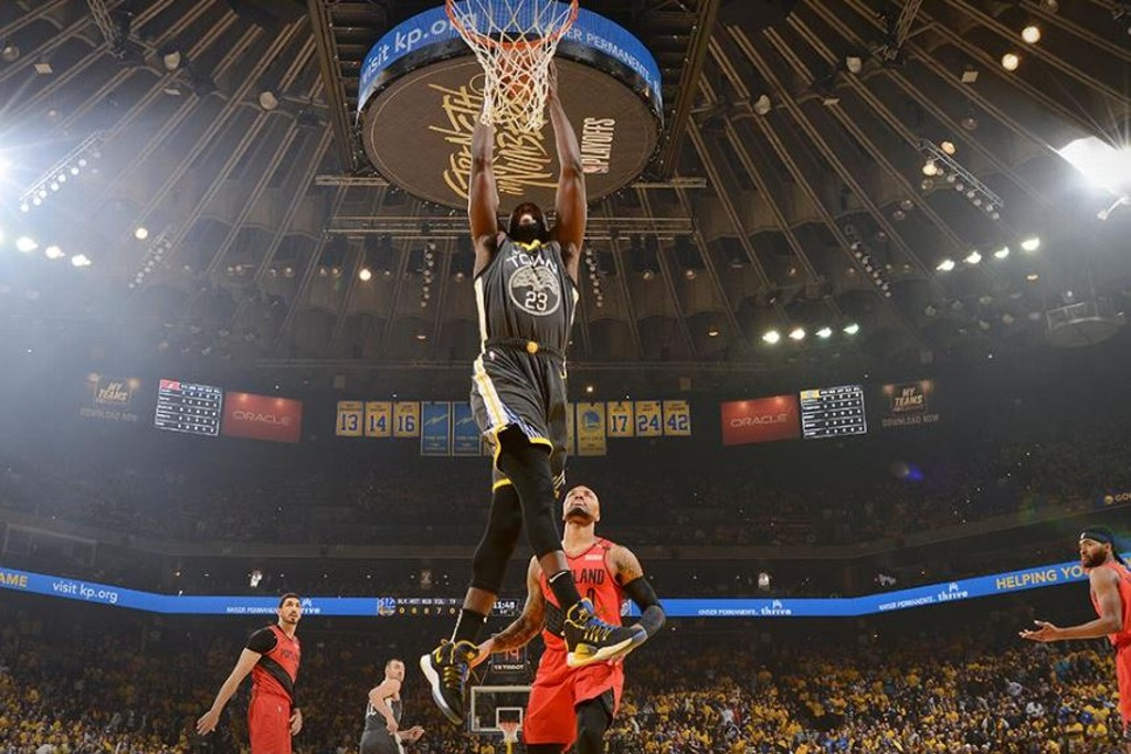 NBA Playoffs: Warriors vuelve a ganar a Blazers en Final del Oeste